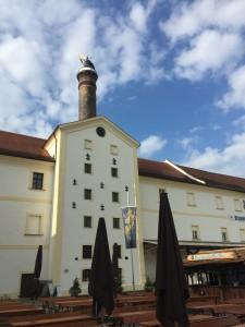Die alte Aldersbacher Mälzerei